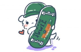 [PuppyJ the Series] #12 : Skateboard